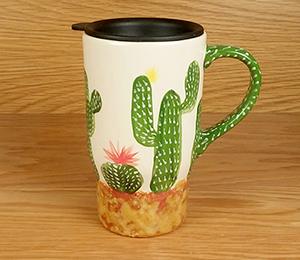 Las Vegas Cactus Travel Mug